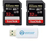 SanDisk 32GB (Two Pack) Extreme Pro Memory Card