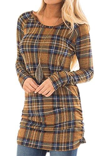 flannel tunic dress - 6