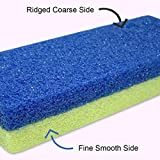 Foot Pumice Stone for Feet Hard Skin Callus Remover and Scrubber
