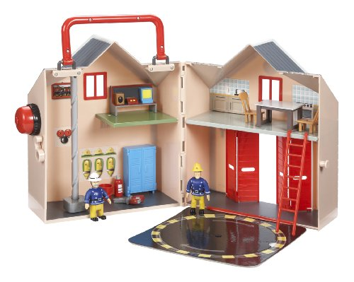 fireman sam deluxe fire station playset by character options buy online in uae toys and. Black Bedroom Furniture Sets. Home Design Ideas