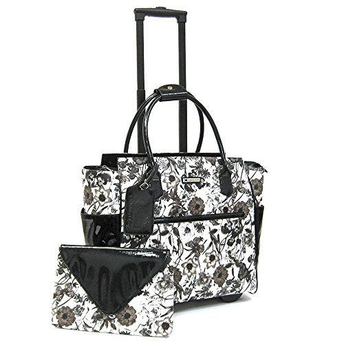 cabrelli-camilla-clutch-15-laptop-bag-on-wheels-black-white
