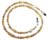 crafts-n-more-store Zodiac Scorpio Topaz (November) Austrian Crystal Eyeglass Chain Holder