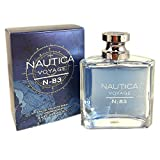 VOYAGE N-83 by Nautica 3.4 Ounce / 100 ml Eau de Toilette Men Cologne Spray