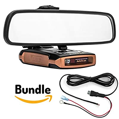 Radar Mount Mirror Mount Radar Detector Bracket + Direct Wire Power Cord - Escort MAX MAX2
