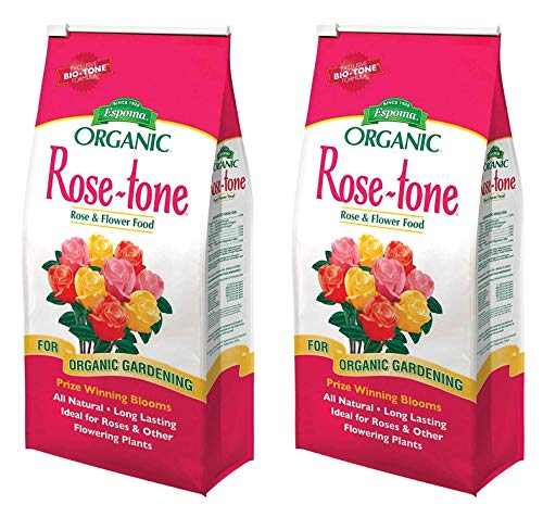 Espoma RT4 4-Pound Rose-Tone 4-3-2 Plant Food (Тwo Рack)