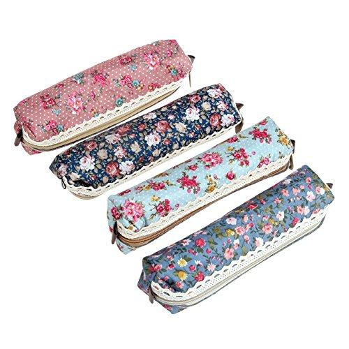 ReNext Pastorale Canvas Pen Bag Pencil Case, Brand New, Different Colors
