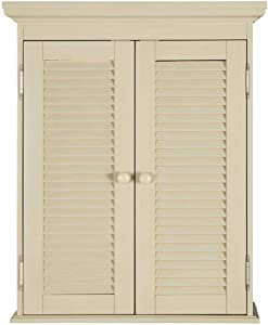 Home Decorators Collection Cottage 23-5/8 in. x 29-1/8 in. Wall Cabinet in Harbor Blue