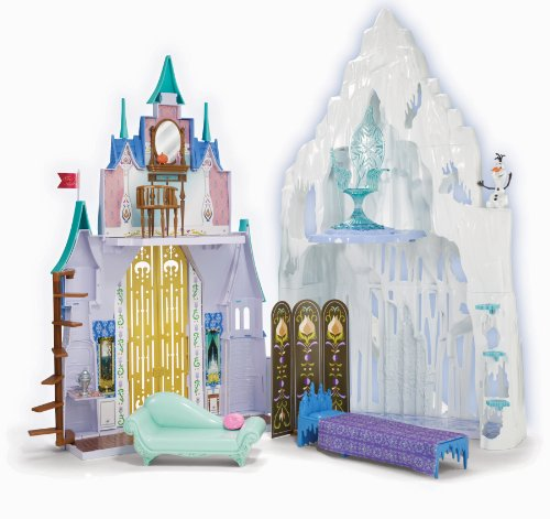 Disney Frozen Castle & Ice Palace Playset by Mattel
