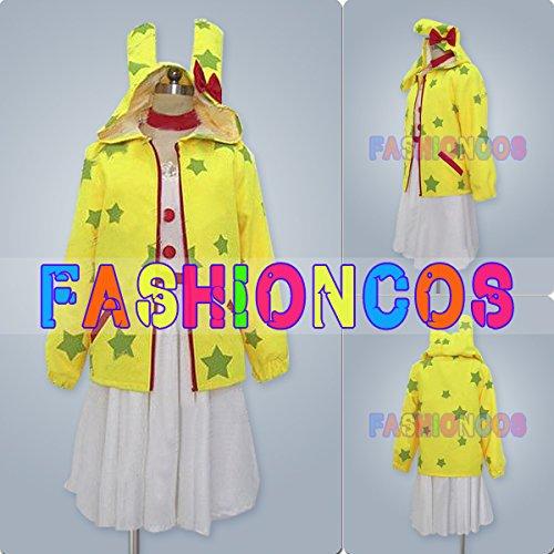 女性Mサイズ HOA014 VOCALOID ボーカロイド LOLIPOPFACTORY 鏡音リン Rin コスプレ衣装 B00U8CBAEK
