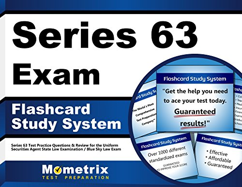 Series 63 Exam Flashcard Study System: Series 63 Test Practice Questions & Review for the Uniform Securities Agent State Law Examination / Blue Sky Law Exam (Cards)