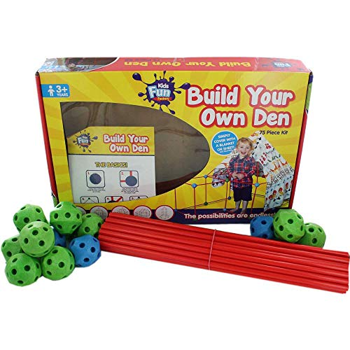 TheWorks Build Your Own Den – 75 Piece Kit