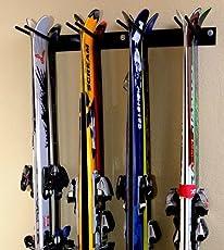 Rough Rack 4-8 Ski u0026 Snowboard Ski Rack & Ski Storage Racks   Amazon.com   Storage u0026 Home Organization ...