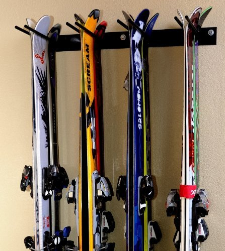 (Rough Rack 4-8 Ski & Snowboard Ski Rack)