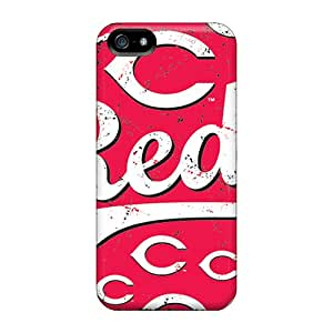 Iphone 5/5s Case, Premium Protective Case With Awesome Look - Cincinnati Reds
