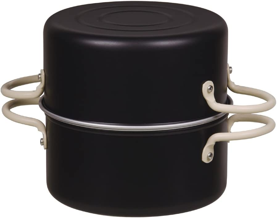 パール金属 オベ・フラ お弁当用 鉄製 両手 フライ鍋セット 16cm HB-285