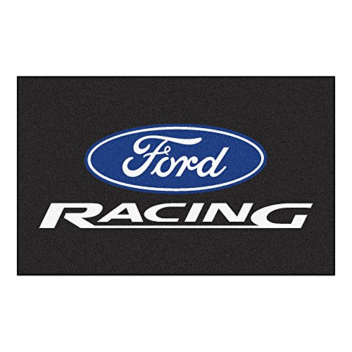 "NASCAR Ford Racing Ultimate Mat, 60"" x 96""/Small, Black"