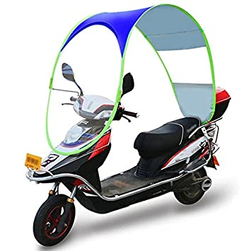 Motorcycle Canopy Motorbike Roof Motor Bicycle Electromobile Sun Visor Shade Tent Umbrella Windshield (Blue)  sc 1 st  Amazon.com & Amazon.com: Motorcycle Canopy Motorbike Roof Motor Bicycle ...