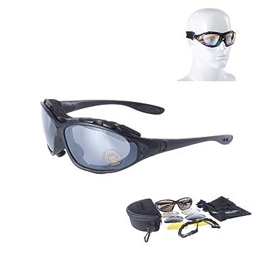 Nueva Daisy C4 gafas tácticas militares Gafas resistente al viento espejo para practicar airsoft paintball gafas al aire libre Caza Desert Storm gafas: ...