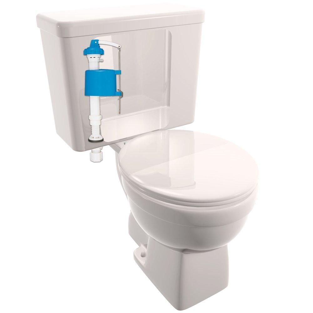 Plumb Craft 7030500N Perfect Flush Adjustable Anti-Siphon Toilet ...