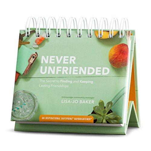 Flip Calendar - Never Unfriended by Lisa-Jo Baker