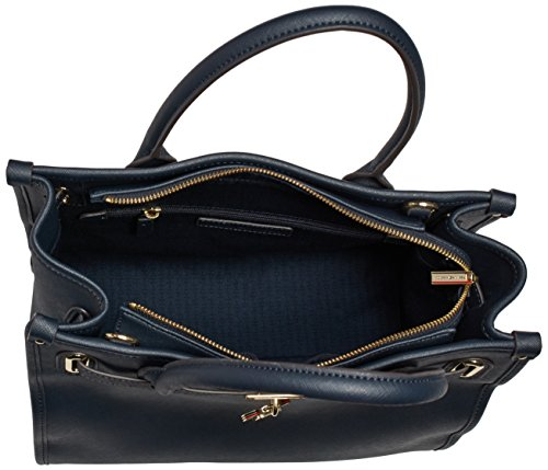 Tommy Hilfiger American Icon Tote Saffiano - Bolso para mujer Midnight