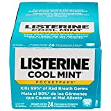Listerine Cool Mint Pocketpaks Breath Strips, 24-24-Strip Pack total 576 strips