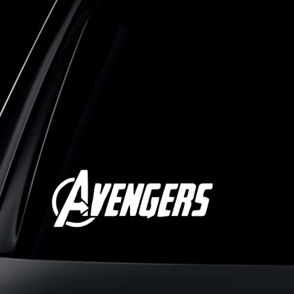 Avengers logo marvel car decal sticker