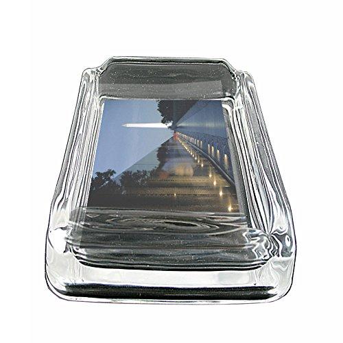 Washington DC USA S5 Glass Square Ashtray 4