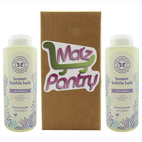 The Honest Company: Dreamy Lavender Scented Bubble Bath (12 oz) - Pack of 2