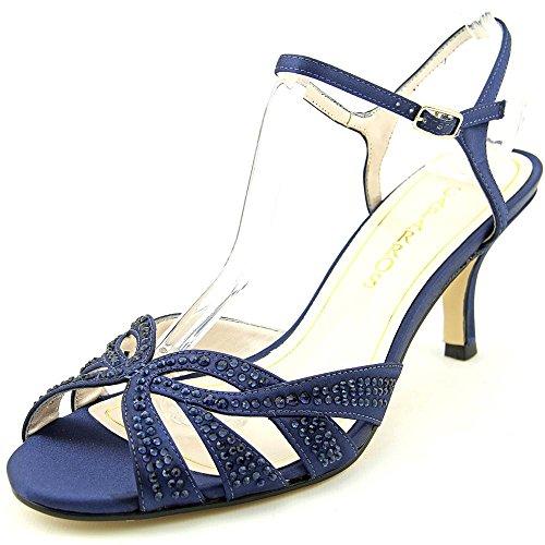 Caparros Womens Heirloom Sandal True Blue Satin