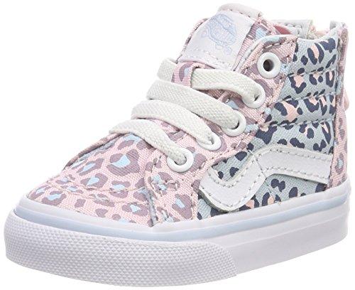 Vans Unisex Baby Sk8-Hi Zip Sneaker Mehrfarbig (2-tone Leopard)