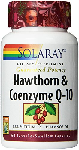 Solaray Hawthorn and Coenzyme-10 Two Daily Supplement, 600mg, 60 Count Review