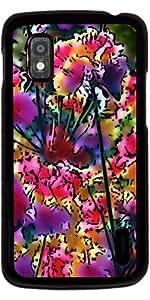 Funda para Google Nexus 4 - Increíbles Flores Del Jardín 20
