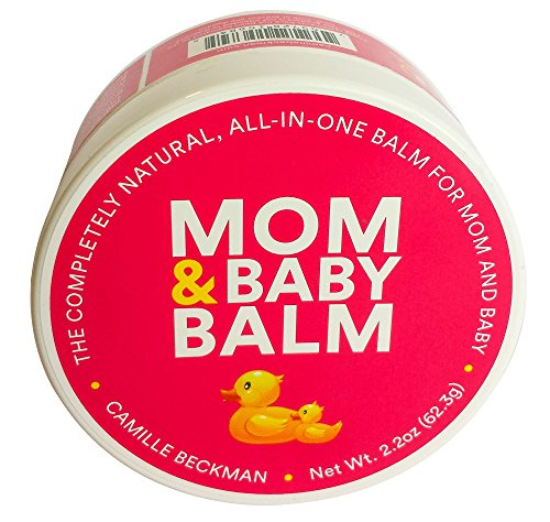 Camille Beckman Mom & Baby Balm All-in-One Natural Vegan Formula, 2.2 Ounce