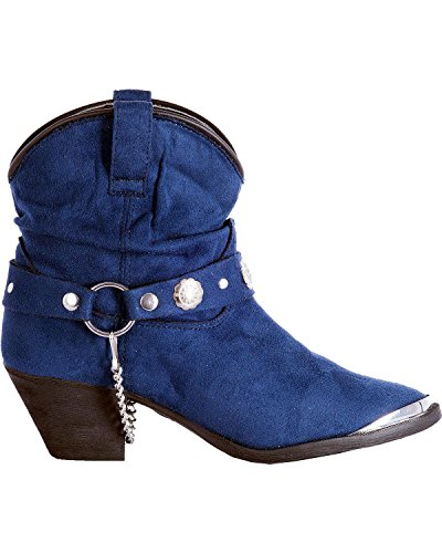 Western Dingo Boots Fiona DI8946 Navy Toe Dancer M 6 Womens Fashion fqqdw4Z