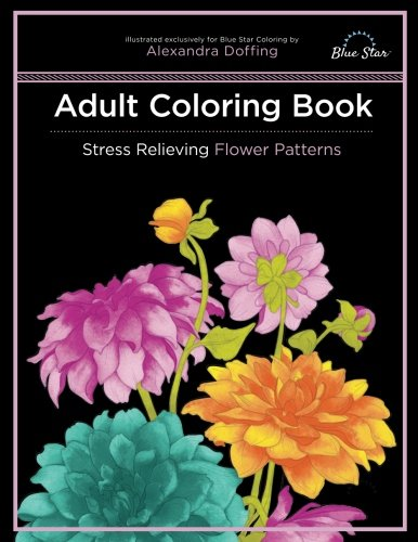 Large Bow Ships Floral (Adult Coloring Book: Stress Relieving Flower Patterns)