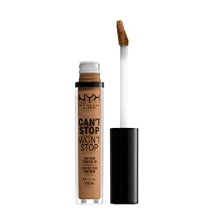 NYX PROFESSIONAL MAKEUP Can't Stop Won't Stop Concealer, Warm Honey