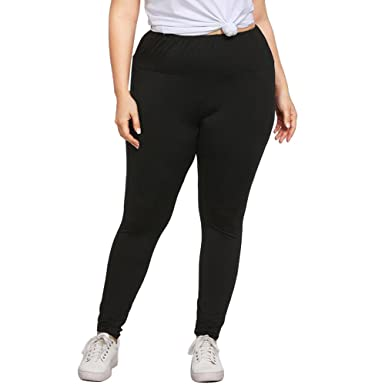 Amazon.com: Yoga Pants Women Plus Size Leggings Trousers Gym ...