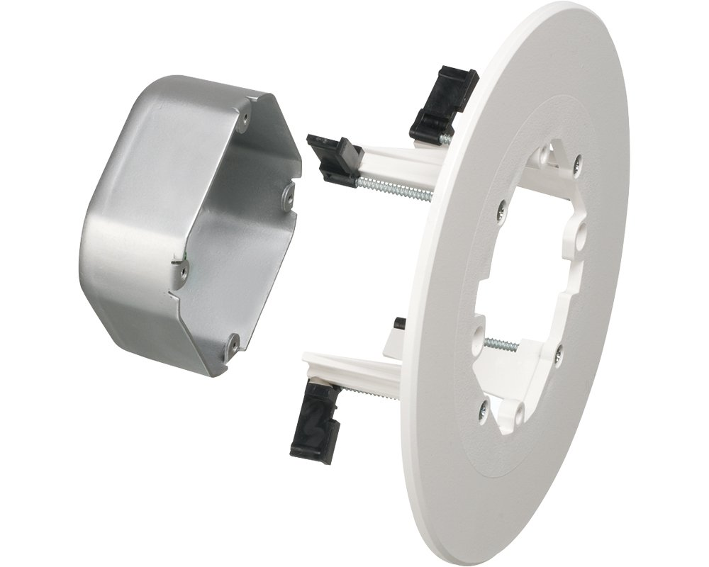Arlington FL430S-1 Cam-Light Box for Suspended Ceilings, 17 Cubic-inches, Metallic, 1-Pack