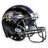 NFL Baltimore Ravens Logo Helmet Magnet (Pack of 1)