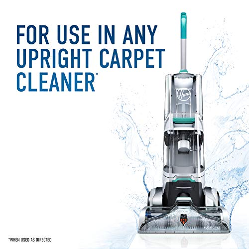 Hoover Free & Clean Deep Cleaning Carpet Shampoo, Concentrated Machine Cleaner Solution, 50oz Hypoallergenic Formula, AH30952, White, 50 Fl Oz