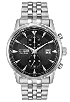 Citizen Men's 'Eco-Drive' Quartz Stainless Steel Dress Watch, Color:Silver-Toned (Model: CA7000-55E)