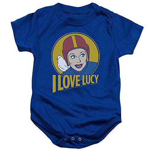 I Love Lucy Costume Ricky (I Love Lucy 1950's Sitcom TV Show Super Lucy Costume Infant Romper Snapsuit)