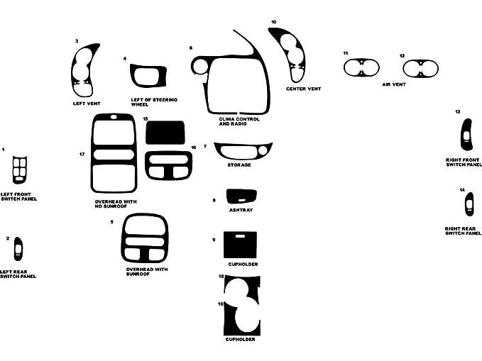 Amazon Com Rdash Dash Kit Decal Trim For Pontiac Bonneville 2000