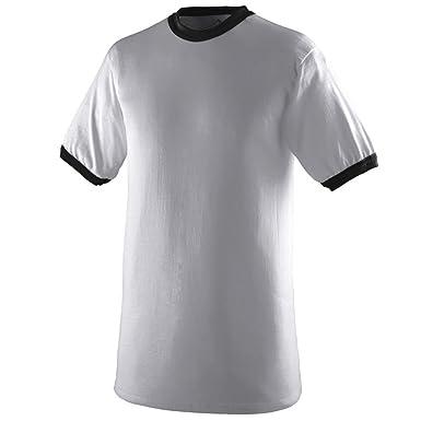 Amazon.com : Augusta Sportswear BOYS' RINGER T-SHIRT : Novelty T ...