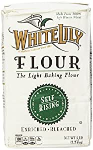 White Lily Self Rising Flour, 5-lb bag
