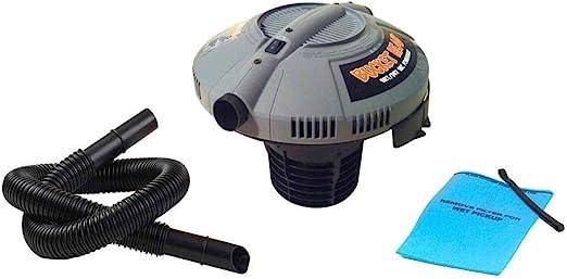 5 Gal Wet Dry Vacuum Cleaner Portable 1.75-Peak HP Shop Car Vac Beveled Hose Bag