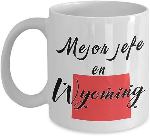 Amazon.com: Spanish Employer Gift Best Boss State Mug Regalo ...
