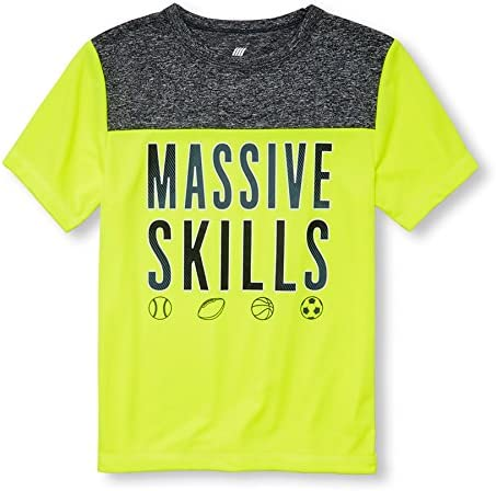 The Childrens Place Boys Graphic Active T-Shirt