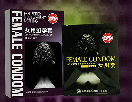 Aikes Female Condoms Adult Sensitive Orgasm Latex Stimulate Condoms for Women (6)
